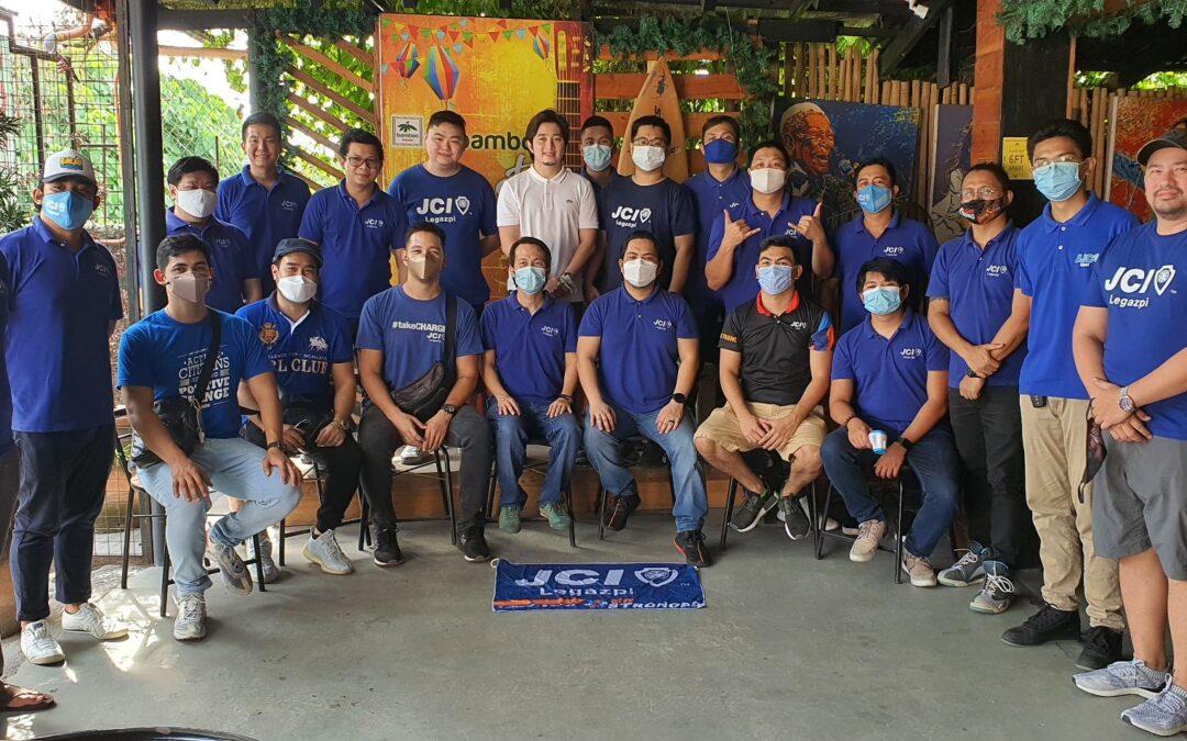 JCI Legazpi Conducts Elections of 2021 BOD
